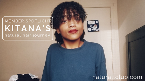 Kitana's natural hair journey