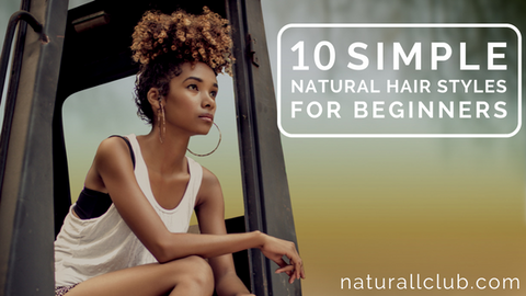 simple natural hairstyles