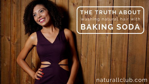 baking soda wash natural hair