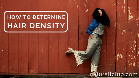 how to determine natural hair density