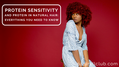 protein sensitive natural hair tips
