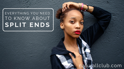 how to prevent split ends natural hair