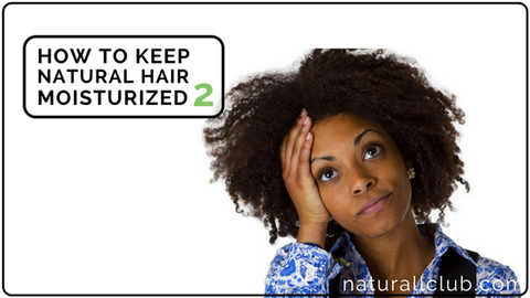 tips for dry natural hair