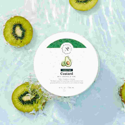 hydrating custard organic hair care kiwi