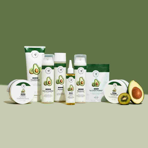 organic haircare natural kiwi avocado
