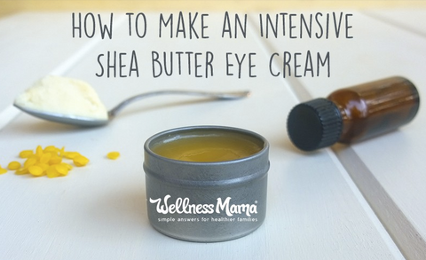 Shea Butter DIY Under Eye Wrinkle Remover