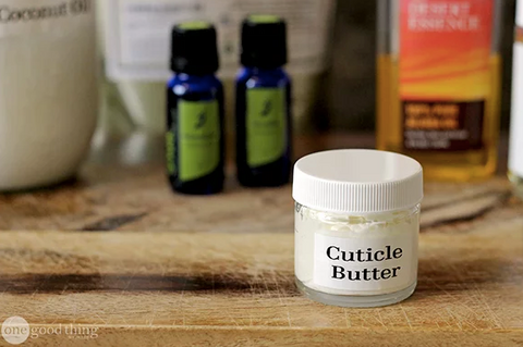 Shea Butter DIY cuticle cream