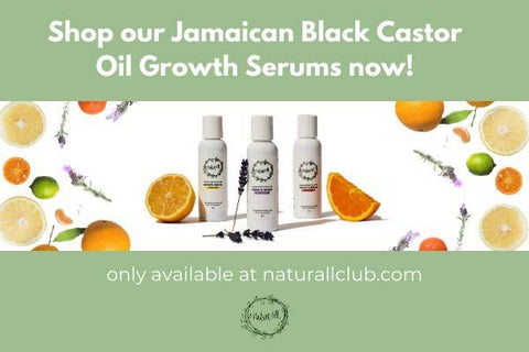 jamaican black castor oil growth serum for natural hair