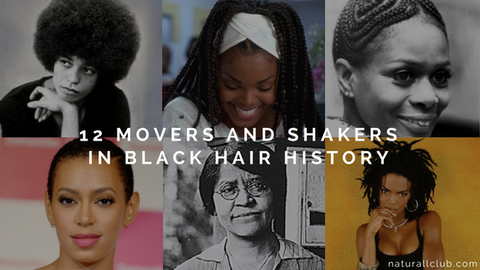 12 movers and shakers in black hair history