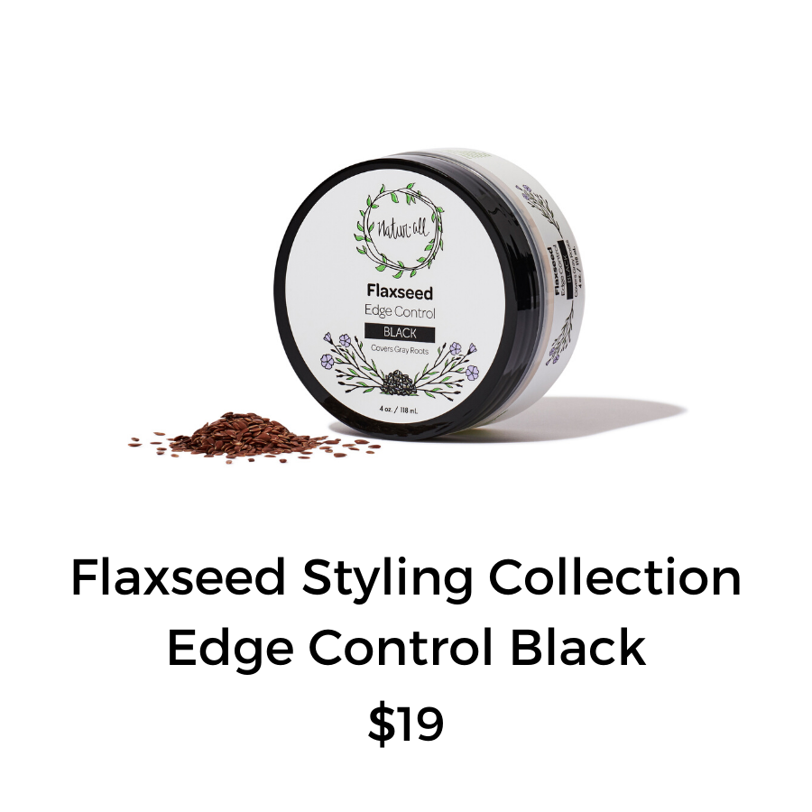 Flaxseed Edge Control Black