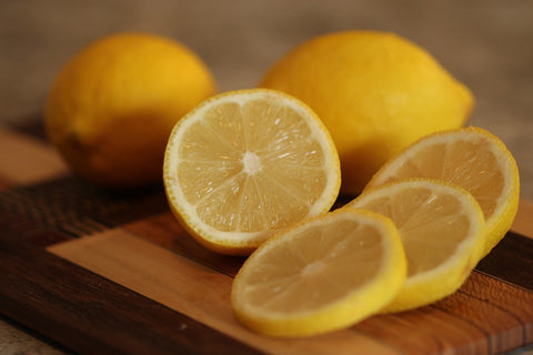 Lemon essential oil for healthy hair