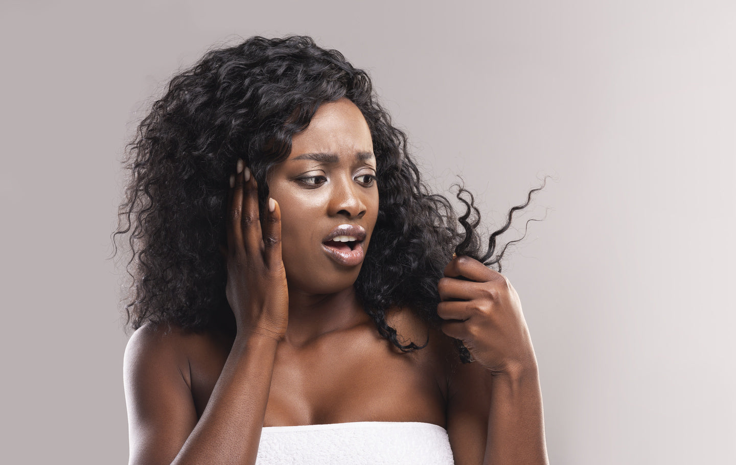 adding moisture to your ends and edges