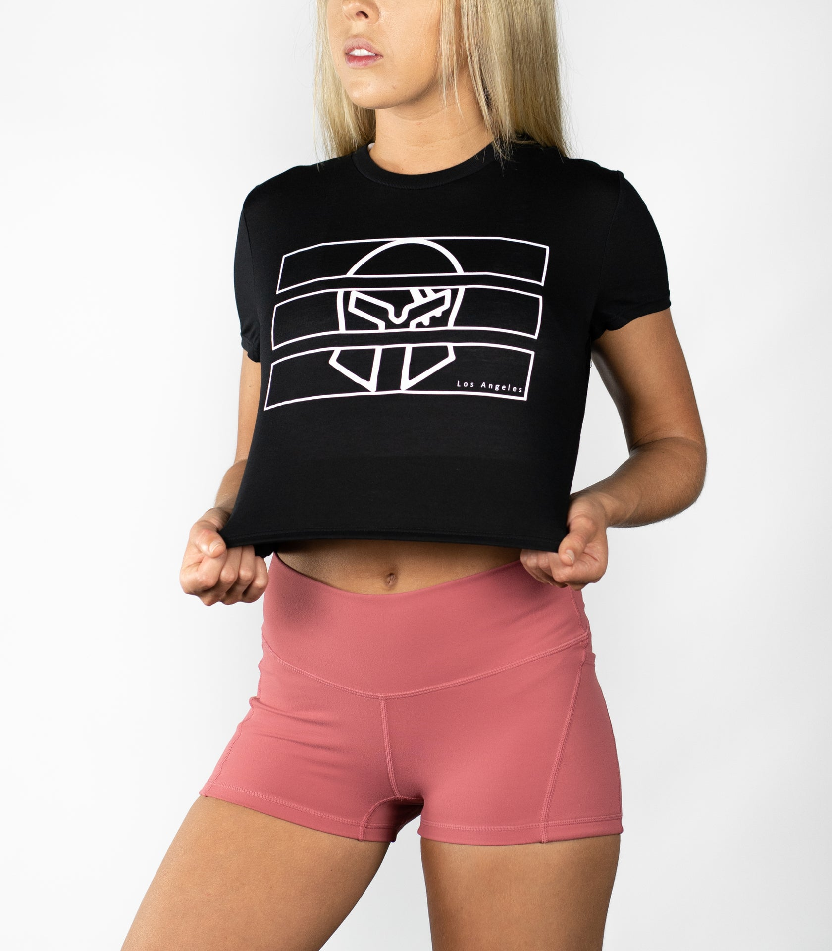 Behind Bars Crop Tee