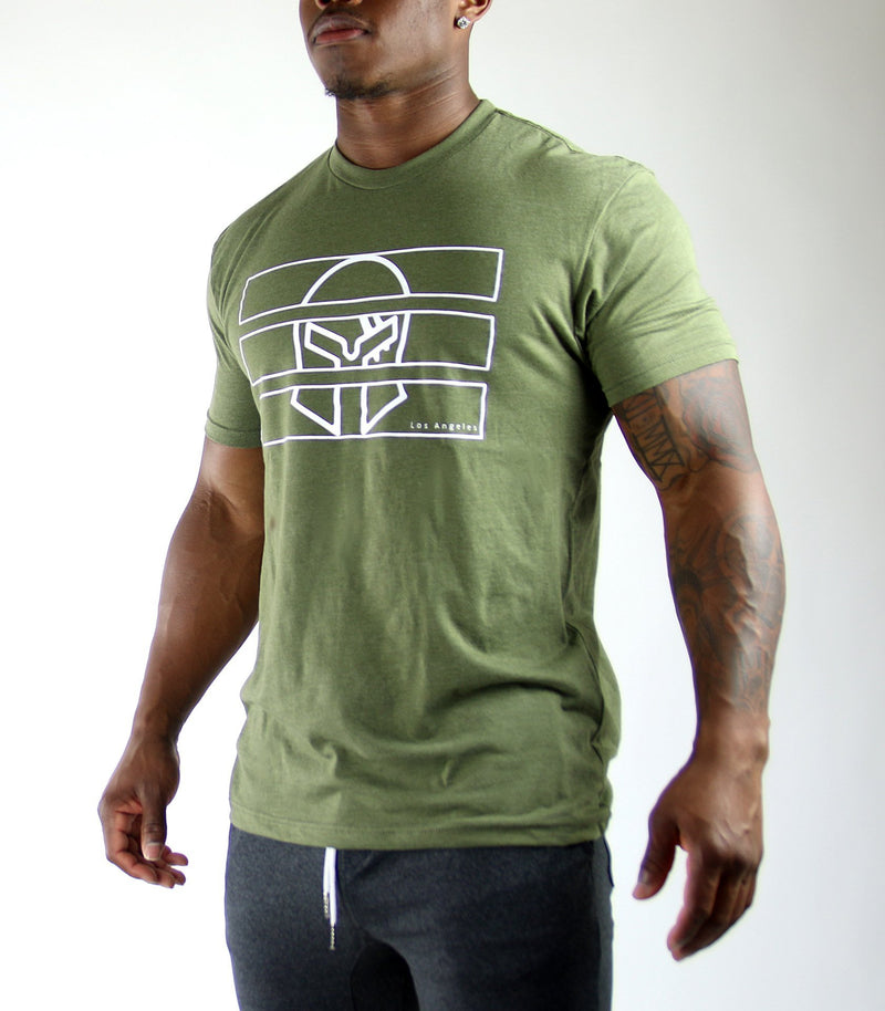 Behind Bars Tee - Titan