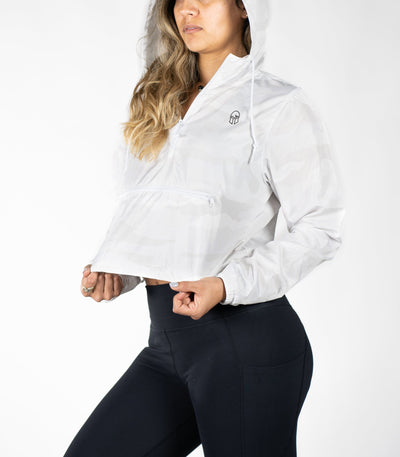 Cropped Windbreaker - Titan