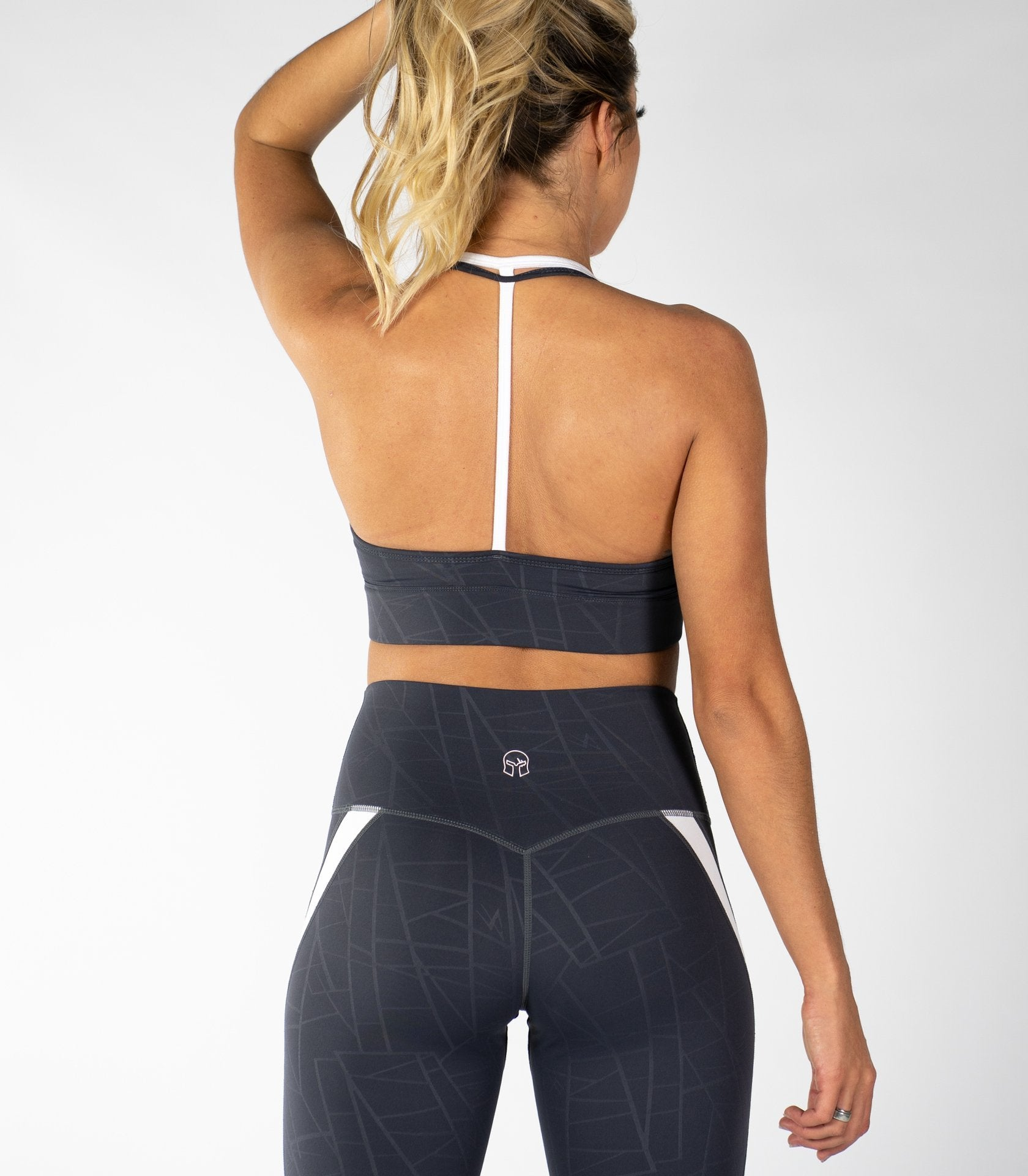 Crown Me Sports Bra - Titan