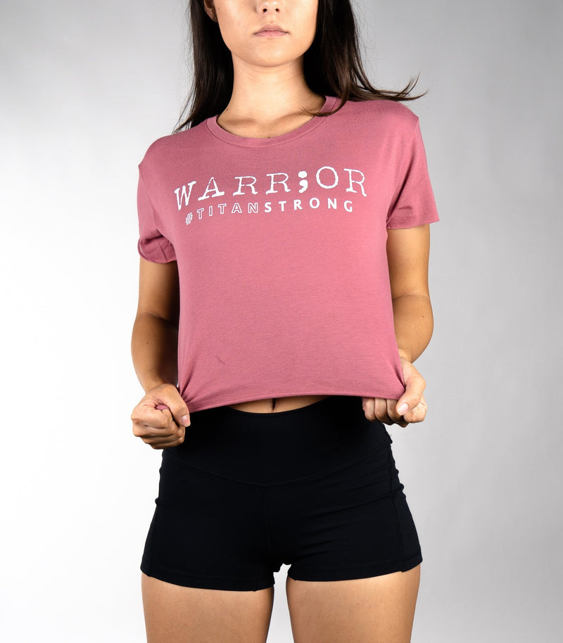 WARR;OR Crop Tee - Titan