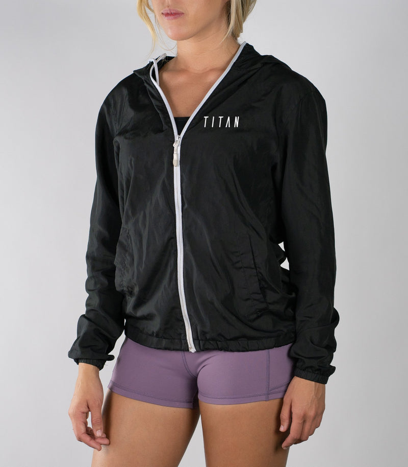 Zip Windbreaker - Titan