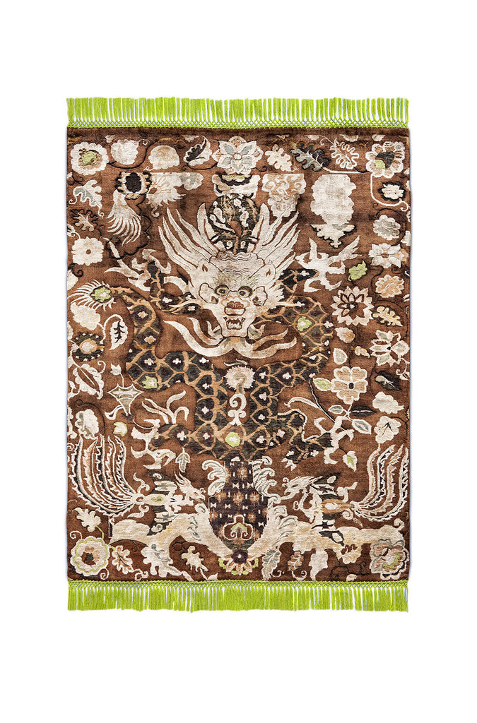 Ikat Dragon No. 04 Chocolate Brown 5093 BS