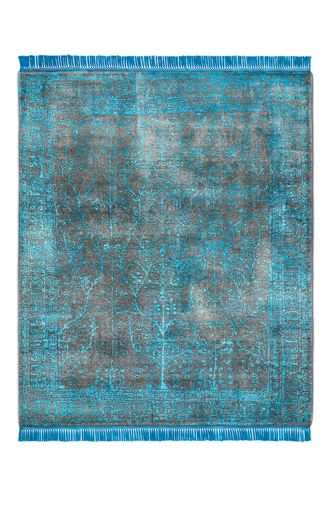 Rajasthan No. 15 Electric Blue Anthracite BG BS