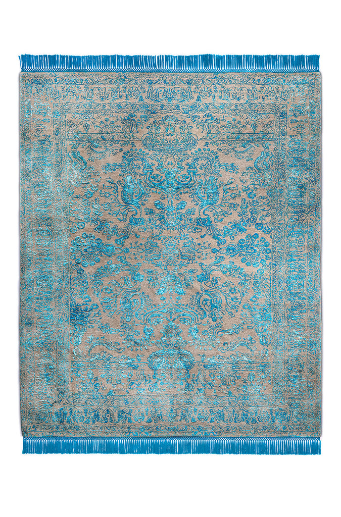 Rajasthan No. 19 Electric Blue Natural Grey BG BS