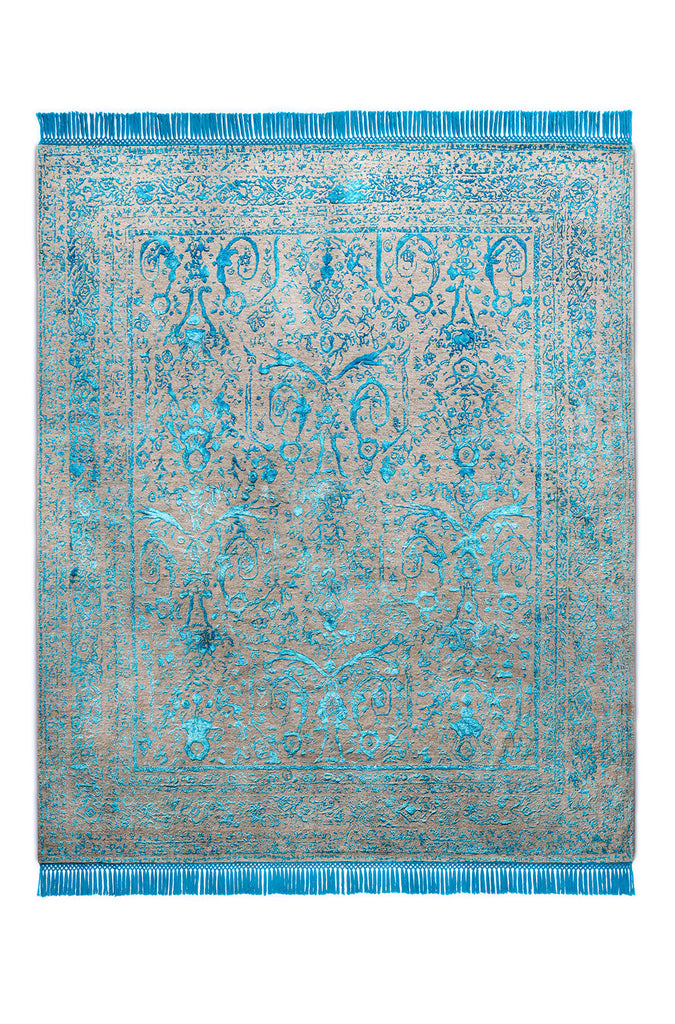 Rajasthan No. 26 Electric Blue Natural Grey BG BS