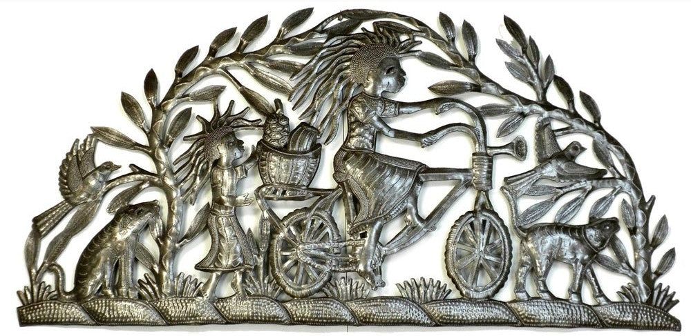 The Inspiring World of Haitian Metal Art
