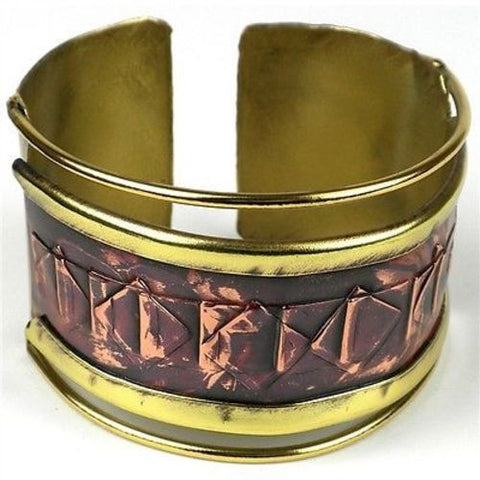 Ancient Diamond-Shaped Cuff-Snazzy Bazaar