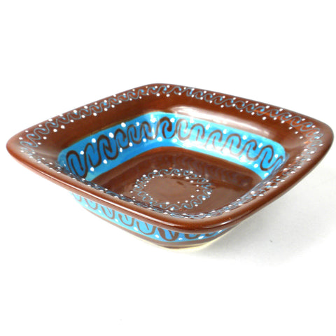 Ceramic Serving Bowl - Cacao Rico-Snazzy Bazaar