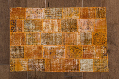 Choose Joy - Vintage Patchwork Rug-Snazzy Bazaar
