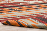 Stripes & Waves - Vintage Kilim-Snazzy Bazaar