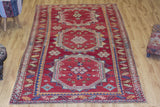 Three Pashas - Vintage Turkish Carpet-Snazzy Bazaar
