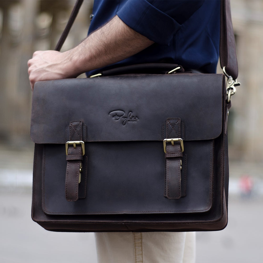 Buffalo Brown Messenger Bag