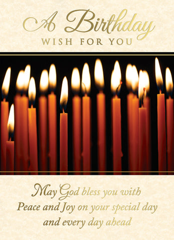 Candles Birthday Wish MA892