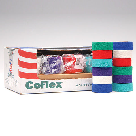 Andover Co-Flex Latex Cohesive Flexible Bandage - Rochester Medical Supplies