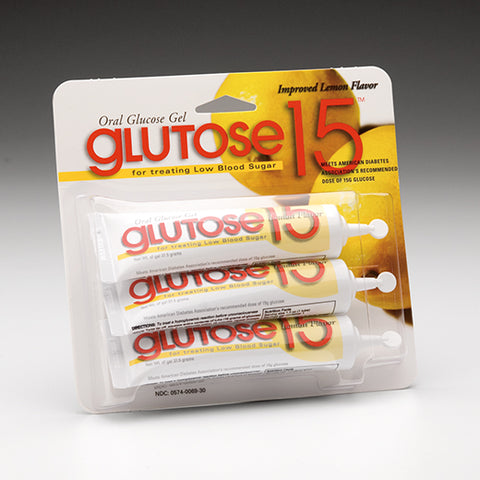 Glutose 15 Oral Glucose - Rochester Medical Supplies