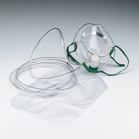 Hudson Oxygen Mask with Safety Vent - Rochester Medical Supplies