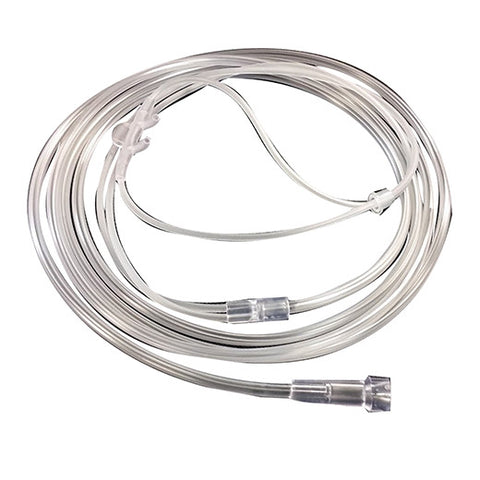 Nasal Cannula W/ Star Lumen Tubing Straight Tip - Rochester Medical Supplies