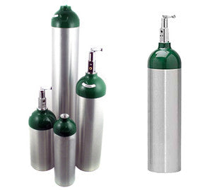 Aluminum Oxygen Tanks - Rochester Medical Supplies
