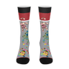 Sock Monkey Socks Funny novelty socks for him - ErinFoggoaCreative