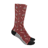Bacon and Cupcake Socks funny novelty socks for women or men - ErinFoggoaCreative