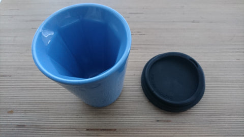 Therma Cup in Blue (with black lid)