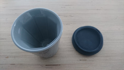 Therma Cup in Grey (with black lid)