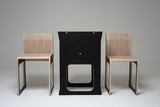 Teanest Compact Table and Chair Set (available in black,red and white)