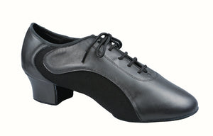 Mens Lycra and Leather Latin Shoe by Dance America Aspen