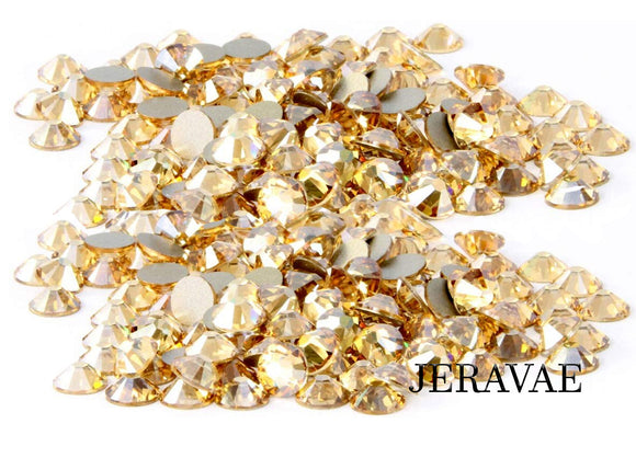 Swarovski Flat Back Crystal Golden Shadow SS20, SS16 10 Gross 1440 stones