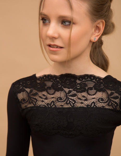 Girls Bodysuit LACE