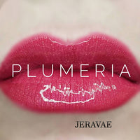 #1364 Plumeria LipSense Lip Color. Long-Lasting Dark Hot Pink with a Touch of Golden Shimmer Vegan Lipstick