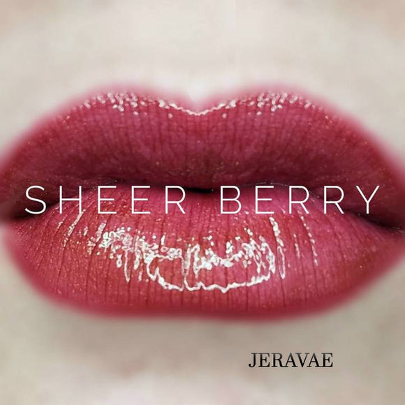 #1080A Sheer Berry LipSense Lip Color. Long-Lasting Berry Purple with a Sheer Matte Finish Vegan Lipstick