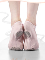 NEW! Skyler Stretch Canvas Split Sole Ballet Technique Dance Shoes with Cross Straps.  Available in 3 Colors